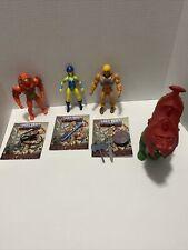 Masters of the Universe 2020 He-Man Battle Cat Evil Lynn Beast Man loose lot
