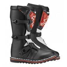 New Hebo Kids Youth Leather Trials Boots Sz 12.5 EU31 Oset Beta 50cc Ty80 Gasgas