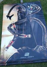 "2004 Spiderman 2 - Doc Ock Vinyl Movie Banner 72"" x 90"" - Alfred Molina"