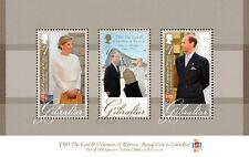 Gibraltar  2012 Royal visit blok      postfris/MNH