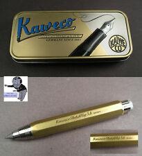 # Kaweco Sketch Up Brass Messing Bleistift mit  5,6mm Mine  #