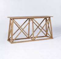 New Copperton Wood X Base Console Table - Threshold™ designed with Studio McGee