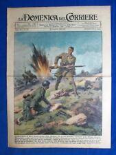 La Domenica del Corriere 8 dicembre 1940 Rrok Doda -Città Inghilterra -Giappone