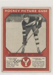 1934-35 Canadian Chewing Gum Hockey Picture V252 Dit Clapper HOF
