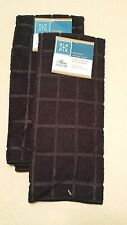 Kitchen Accessory Set Microfiber Hand Towel Black NEW