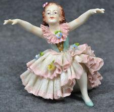 Tänzerin, Figur, Porzellan, Volkstedter Porzellan, etwa 1955