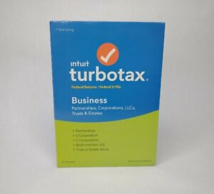 Intuit TurboTax Business 2018 Federal Return Plus Federal E-File for Windows