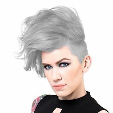 Sparks Long Lasting Bright Hair Color Dye Ash No Ammonia Permanent - Silver Mist