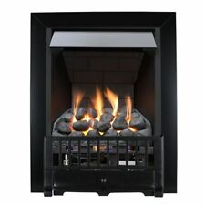 Metal Modern Fireplaces with Variable Heat Control