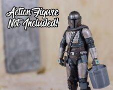 Mandalorian BESKAR CAMTONO Star Wars Black Series ACCESSORY - READ DESCRIPTION!!