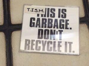 TISM Garbage This Is Serious Mum CD Single