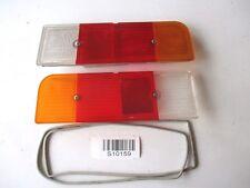 Opel Kadett C Rücklichtglas Glas Lichtscheibe SET 1223416 Bosch NEU Original