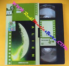 film VHS ALIEN Ridley Scott CORRIERE DELLA SERA 118 112 minuti (F104*) no dvd