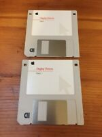Vintage 1993 Mac Macintosh Display Drivers Software Installation Floppy Disks