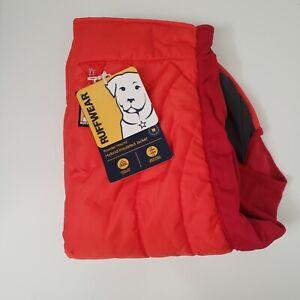 """Ruffwear Powder Hound Hybrid Insulated Dog Jacket Sockeye Red Medium 27-32"""""""