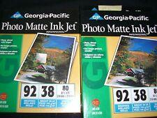 Georgia Pacific Photo Matte Ink Jet paper 3 packs