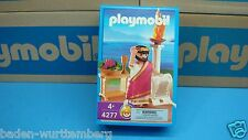 Playmobil 4277 Roman series Caesar mint in Box for collectors geobra toy 109