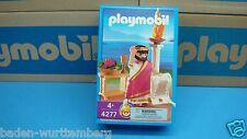 Playmobil 4277 Roman series Caesar mint in Box for collectors geobra toy 109