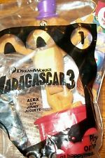 McDonald's Madagascar 3 Alex Push-up Figurine Happy Meal Toy NIP#1