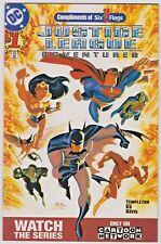 DC Comics Justice League Adventures #1 Six Flags Variant Edition 2002 CB50