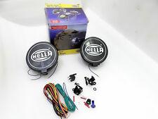 HELLA BLACK MAGIC COMET 500 HALOGEN DRIVING LAMP KIT + FITTING CAR TRUCK