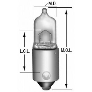 Map Light Bulb Rear Wagner Lighting BP47830