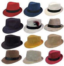 KIDS FEDORA BUCKET BOYS GIRLS HAT Children CAP