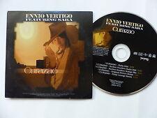 CD SINGLE Promo 5 titres ENNIO VERTIGO Curazao 102 24