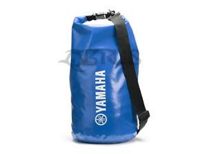 Genuine Yamaha Blue 10L Dry Bag ATV QUAD MOTORCROSS ACCESSORIES JETSKI