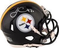 James Conner Pittsburgh Steelers Signed Riddell Speed Mini Helmet - Fanatics
