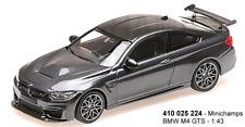 Minichamps 410025224 - BMW M4 GTS – 2016 – grigio metallizzato W/Grigio CERCHI