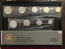 "FRENCH SOMALILAND & POLYNESIA 1965 ""Fleurs de Coins"" FDC SET - Monnaie de ParIs"