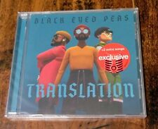 Black Eyed Peas Translation Target Exclusive Cd 2 Bonus Tracks *New* Pop Shakira