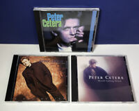 Lot of 3 Peter Cetera CDs Solitude/Solitaire - World Falling Down - A Collection