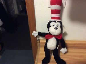"""20""""  Dr. Seuss Cat In the Hat Plush By Soft Things"""
