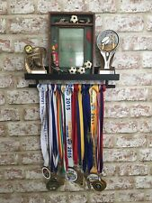 🏆Black Medal & Trophy Display Shelf Gymnastics🏅Football🏅Rugby🏅Cricket Sport