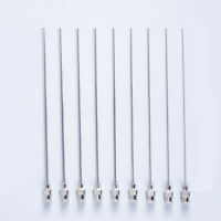 5PCS Blunt Stainless Steel Syringe Needle Dispensing Needles 2.0x100mm