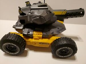 LT Xtreme Tank Vehicle Transforms Car Boat Land Water Sea Rapid Fire RC Toy