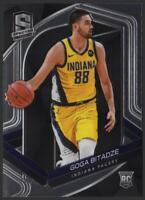 2019-20 Panini Spectra BASE #125 Goga Bitadze RC Rookie Card Indiana Pacers