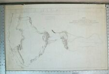 1845 Captain Fremont Exploring Expedition through the Rocky Mountains Map