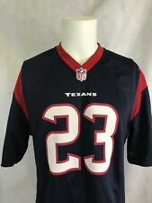 7cfd3e12b42 Nike Houston Texans Arian Foster NFL On Field Blue Football Jersey Sz Medium