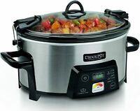 Crock-Pot SCCPCTS605 Cook Travel Serve 6-Quart Programmable Slow Cooker