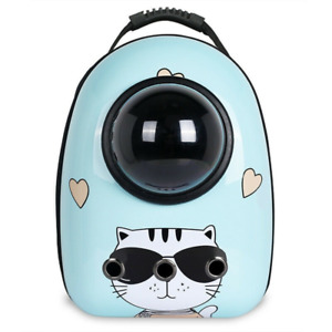Backpack Pet Travel Carrier Bags Breathable Transparent Puppy Cat Space Capsule