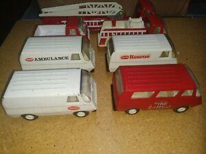 Tiny Tonka Fire Truck Set 1976/77 Fire Trucks