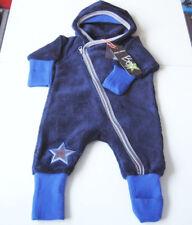 Teddy Plüsch Overall Gr.56 Phister & Philina NEU Einteiler Wagen-anzug blau baby