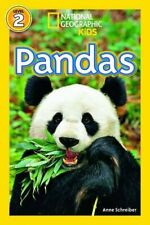 Pandas (National Geographic Readers), Schreiber 9781426315824 Free Shipping..