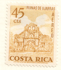 Costa Rica - 1967 Airmail - Churches and Cathedrals