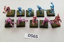 GW 40k Warhammer Daemons of Tzeentch Pink/Blue Horrors Metal Painted
