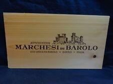 WOOD WINE PANEL END  MARCHESI DI BAROLO ITALY ANTICHI PODERI