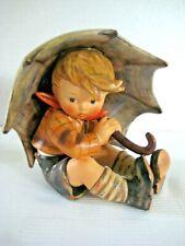 "Goebel Hummel Figurine ""Umbrella Boy"" #152/0 A • Tmk6 • 5"" Tall • Mint"